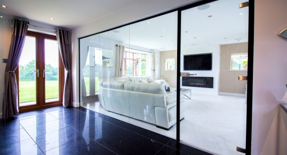 Residential Glass Partition and Glass Doors (Cannock)