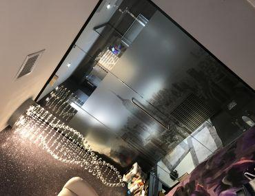 Glass wall Bathroom (Wolverhampton)