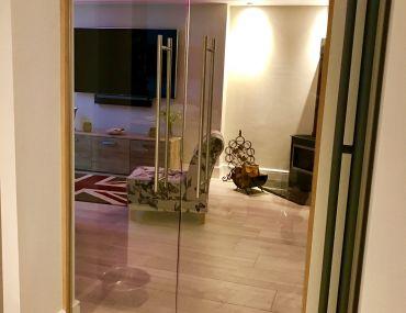 Residential Frameless Glass Doors