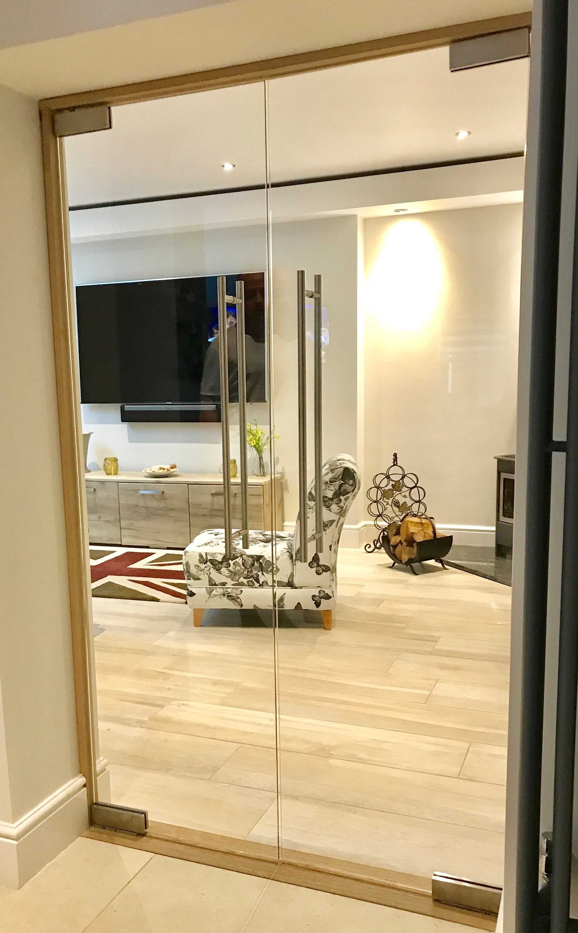 Frameless Glass Doors | Internal | West Midlands